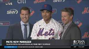 Mets Introduce Luis Rojas As Next Manager [Video]