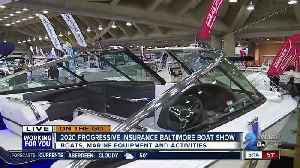 On the Go: 2020 Progressive Insurance Baltimore Boat Show [Video]