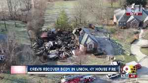 Crews recover woman's body after Union, Ky. house fire [Video]