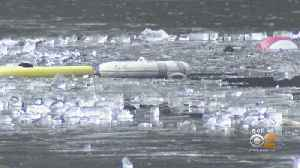 Person Pulled From New Jersey Reservoir In Third Ice Rescue This Week [Video]