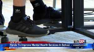 Funds To Improve Mental Health Services In School [Video]