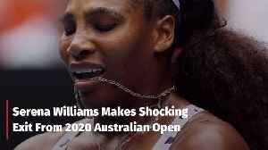 Serena Williams At The 2020 Australian Open [Video]
