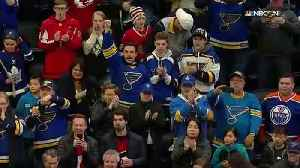 Blues icons take the ice at All-Star Skills Competition [Video]