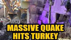 News video: Turkey: Several dead, hundreds injured as 6.5 magnitude quake strikes| OneIndia News