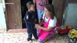 Brave toddler works as a volunteer rescuer with his parents [Video]