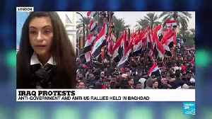 """Inna Rudolf on France 24: """"Muqtada Al-Sadr has once again demonstrated his power to mobilise crowds"""" [Video]"""
