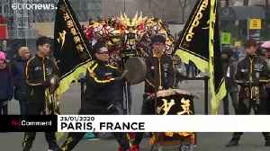 Watch: Chinese New Year is celebrated at the Eiffel Tower [Video]