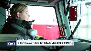 Lake View Fire District welcomes first female chief, a fifth generation firefighter [Video]