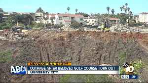 Outrage after former golf course turned to wasteland [Video]