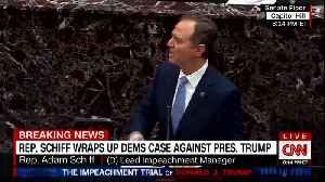 Adam Schiff dismisses Trump lawyers' arguments [Video]