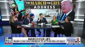 Fox News' Juan Williams on Trump's March for Life appearance [Video]