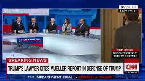 Toobin on Trump's impeachment defense team [Video]