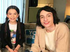 Finn Wolfhard & Brooklynn Prince Play Would You Rather: The Turning Edition [Video]