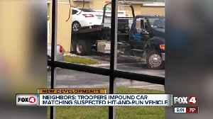 Neighbors say troopers impounded car matching hit-and-run description [Video]