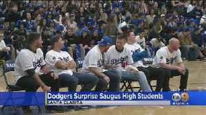 Dodgers Surprise Saugus High School Students, First Responders In Santa Clarita [Video]