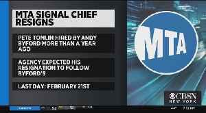 MTA Signal Chief Resigns [Video]