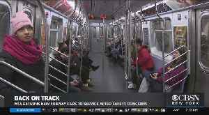 MTA Returns New Subway Cars To Service After Safety Concerns [Video]