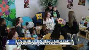 Chelsea Clinton makes stop in Milwaukee to tour new reading space for children [Video]
