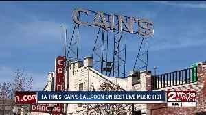 LA Times: Cain's Ballroom on best live music list [Video]
