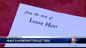Family keeps Lamar Hunt's 1963 letters [Video]