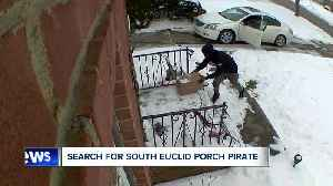 South Euclid police searching for 'porch pirate' caught on camera at 2 different homes [Video]