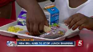 New bill aims to prevent 'lunch shaming' in public schools [Video]