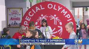 Keller ISD Elementary Students Giving Back To Special Olympics [Video]