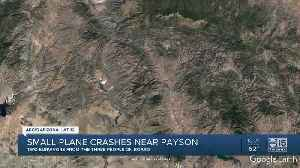 One killed, two taken to hospital after a plane crash southwest of Payson [Video]