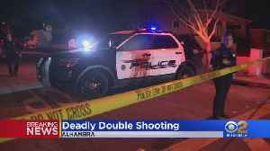 Police Investigating Double Shooting At Alhambra Apartment Complex [Video]