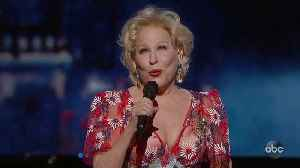 Bette Midler Sings 'The Place Where Lost Things Go' [Video]