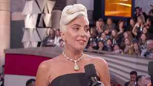Lady Gaga Oscars 2019 Red Carpet Interview [Video]