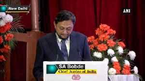 UNDP projected I-T Appellate Tribunal case study as role model CJI Bobde [Video]