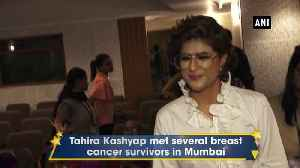 Tahira Kashyap celebrates her birthday with breast cancer survivors in Mumbai [Video]