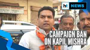 EC orders 48-hour campaign ban on BJP's Kapil Mishra for India vs Pak remark [Video]