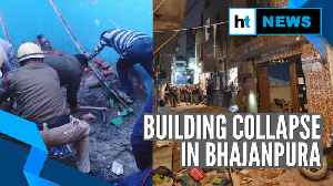 Delhi: 5 dead, 13 hospitalised after building collapse in Bhajanpura area [Video]