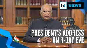 News video: Youth should remember Gandhi's 'gift of Ahimsa': President on Republic Day eve