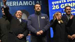 Italy's right-wing leader Salvini targets leftist region in key vote [Video]