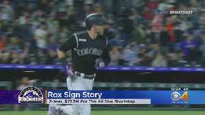 Trevor Story & Colorado Rockies Sign 2-Year, $27.5 Million Contract [Video]