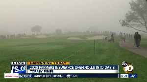 Fog delay hits Farmers Insurance Open day 3 [Video]