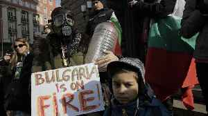 Bulgaria: Residents in Pernik protest about water shortages [Video]