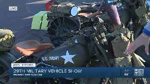 What you'll see at the 29th Annual Military Vehicle Show [Video]