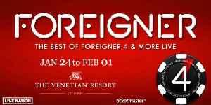 Foreigner opens residency at Venetian Las Vegas [Video]