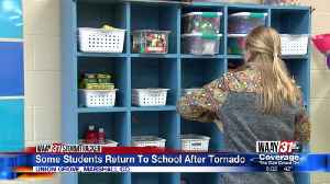 Some Students Return To School After Tornado [Video]