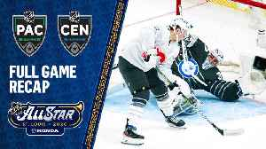 Hertl's four goals power Pacific All-Stars past Central [Video]
