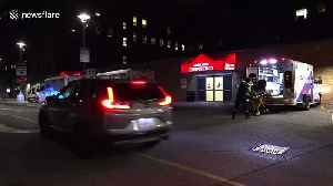 Coronavirus: Exteriors of Toronto hospital treating Canada's first suspected case [Video]
