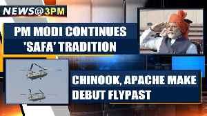 71st Republic Day: PM Modi continues with 'Safa' tradition, Chinook & Apache make debut [Video]