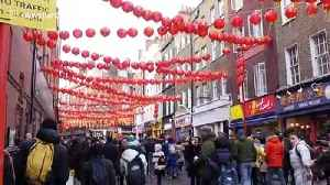 Lunar New Year celebrated in London as coronavirus fears rise in China [Video]