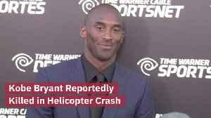 BREAKING: Kobe Bryant Dies In A Helicopter Crash [Video]
