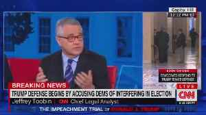 "CNN's Toobin: 'White House and white people."" [Video]"