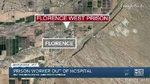 Prison worker out of hospital [Video]